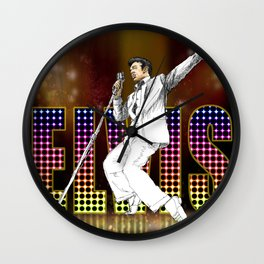 Elvis 2 Wall Clock