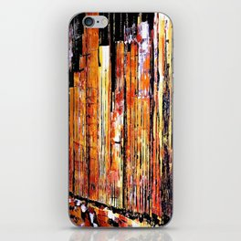 Golden town iPhone Skin