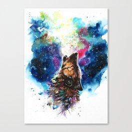 Moonlight singing Canvas Print