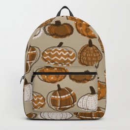 Pumpkin Party in Almond Backpack