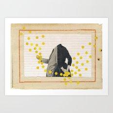 Love and Lupinus Art Print