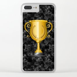 Trophy cup Clear iPhone Case