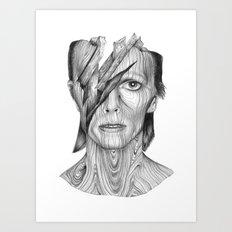Wood dB Art Print
