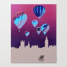 Sky of London Canvas Print