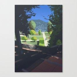 Jardin du Monastère de Cimiez Canvas Print