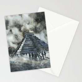 Mayan ruins at Chichen Itza, Mexico Stationery Cards