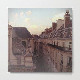 Apartments - Paris, France Metal Print