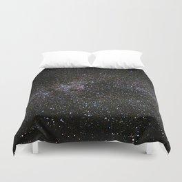 Milky Way Stars Duvet Cover