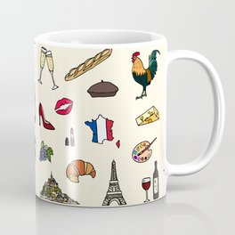 French pattern Coffee Mug