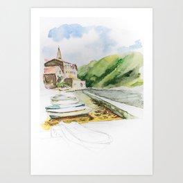 Kotor Art Print