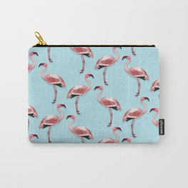 Flamingos Carry-All Pouch