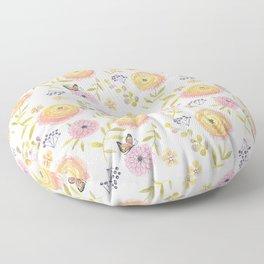 Ranunculus Floor Pillow