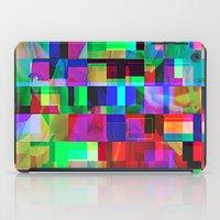 glitch iPad Cases featuring GLITCH by C O R N E L L