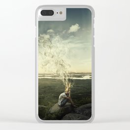 artist imagination Clear iPhone Case