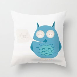 That was a hoot! Throw Pillow
