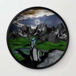 Magic Caslte Wall Clock