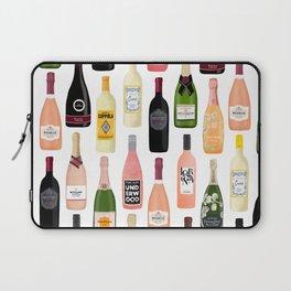 Wine & Champagne Bottles Laptop Sleeve