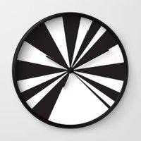 pyramid Wall Clocks featuring Pyramid by Vadeco