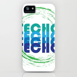 Techno Music Lover iPhone Case
