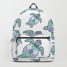 Sea turtles. Backpack