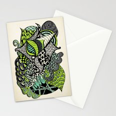 The flying snail Stationery Cards