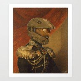 Halo Master Chief Spartan 117 Class Photo General Painting Fan Art Art Print