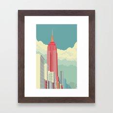NYC 5th Avenue Framed Art Print