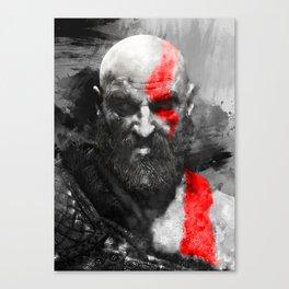 150 Kratos Paint Canvas Print