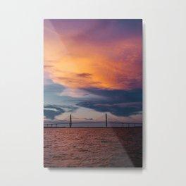 Charleston Sunset XII Metal Print