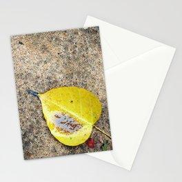 Bodhi Leaf Stationery Cards