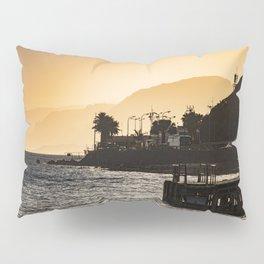 Golden Hour at the Israel-Egyptian Border Pillow Sham