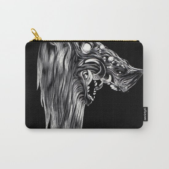 Pig Head Carry-All Pouch