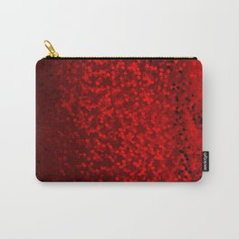 Red sequins Carry-All Pouch