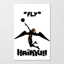 Karasuno Fly Canvas Print