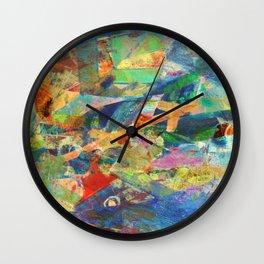 Tuna Fishing Wall Clock
