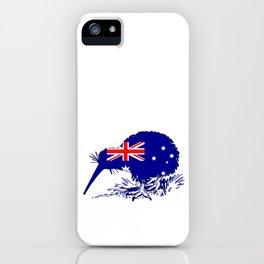 Australian Flag - Kiwi Bird iPhone Case
