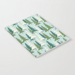Winter Pines Notebook