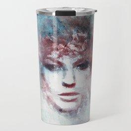 Girl face painting ART Travel Mug