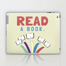 Read a book. Laptop & iPad Skin