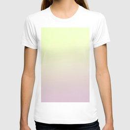 FRESH START - Minimal Plain Soft Mood Color Blend Prints T-shirt