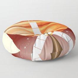 Juno - Mission to Jupiter Space art Floor Pillow
