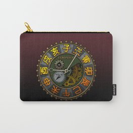 Japonism clock 1 Carry-All Pouch