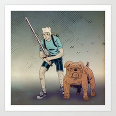 Time for Adventuring Art Print