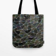 Abstract Digital Waves Tote Bag