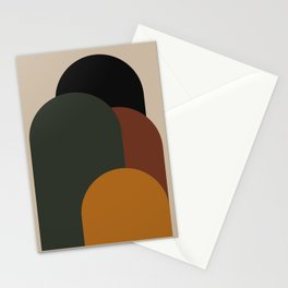 Minimal Arches VIII Stationery Cards