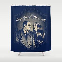 Gomez & Morticia Addams Shower Curtain
