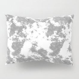 Soft Gray Tie-Dye Pillow Sham