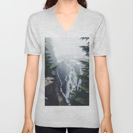 Water on the Mountain Unisex V-Neck