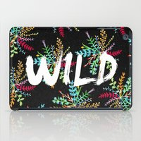 into the wild iPad Cases featuring Wild by Camila Escat