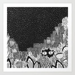 Botanical Doodle 1/3 Art Print